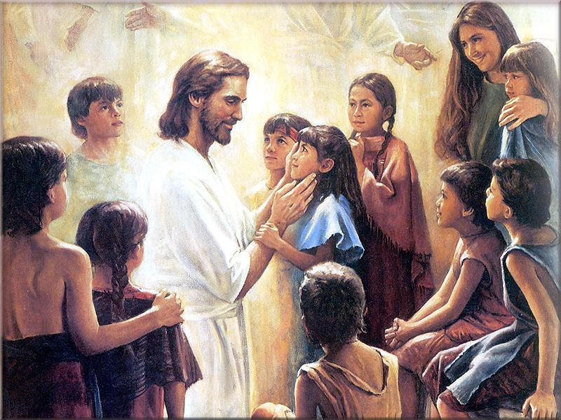 Jesus said let the little children come to me and do not hinder them